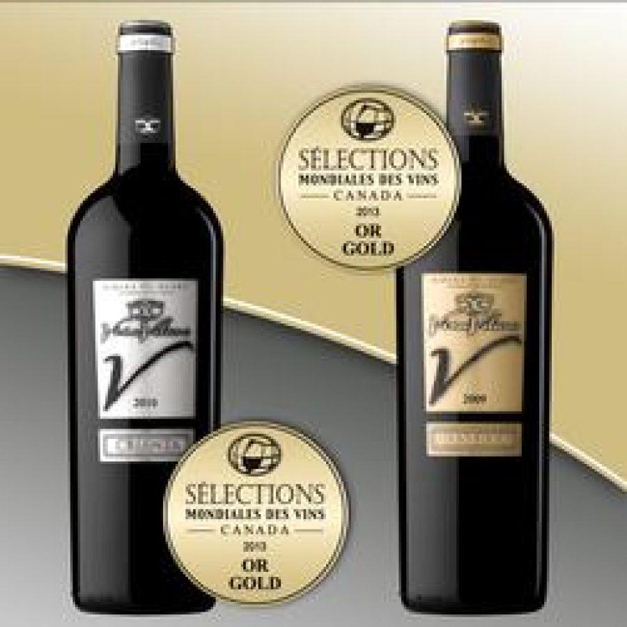 El Viña Vilano Crianza 2010 y el Viña Vilano Reserva 2009 obtienen dos medallas de oro en el concurso de vinos más importante de América del Norte