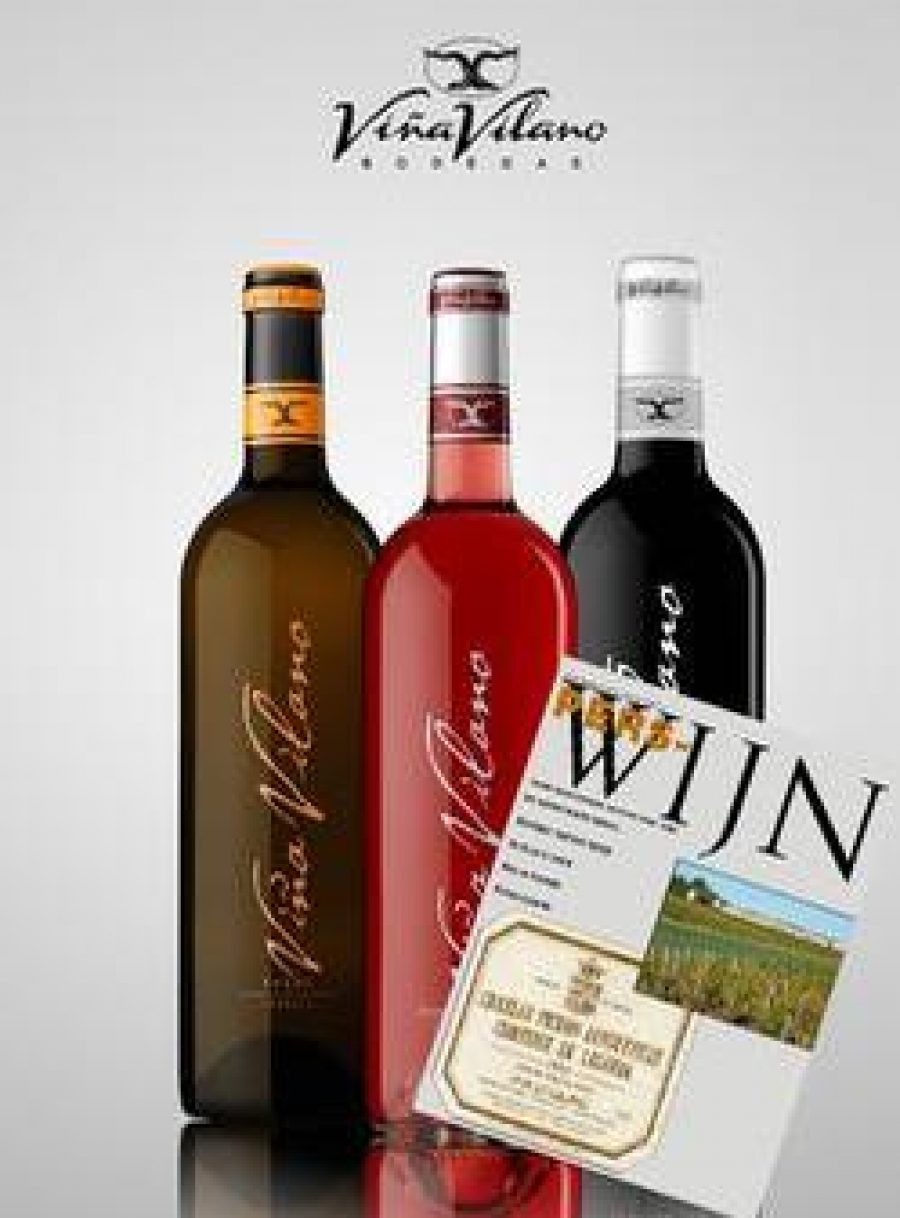 Los vinos de Viña Vilano, en la revista especializada más prestigiosa de Holanda, Perswijn