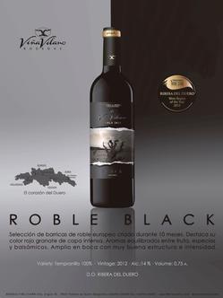 El Viña Vilano Roble Black Edition, seleccionado para participar en la Feria de Artesanía y Alimentación Europea 2015