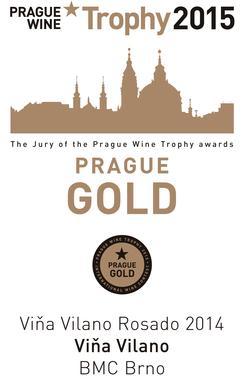 El Rosado Viña Vilano cosecha un nuevo éxito internacional, al lograr la Medalla de Oro en el «Prague Wine Trophy 2015»