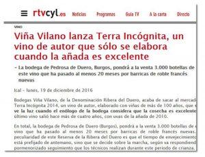 Terra Incógnita 2014, de Viña Vilano