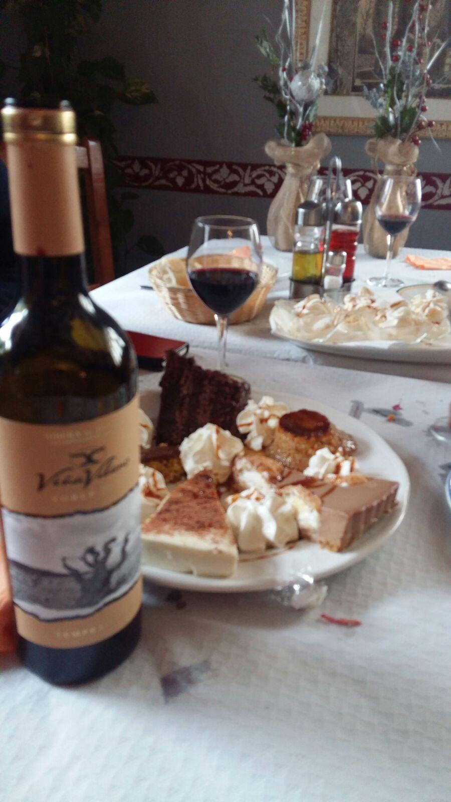 Maridaje con vinos Viña Vilano