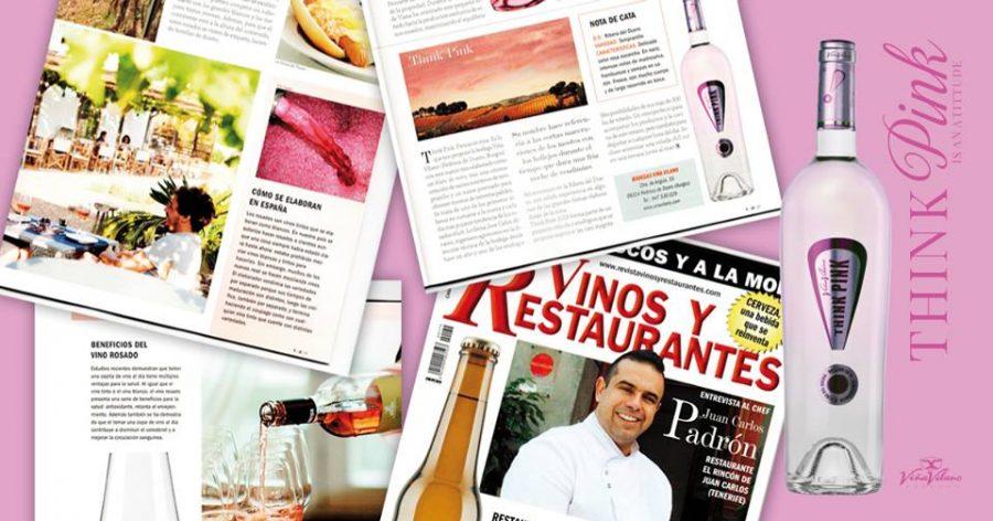 «Think Pink» de Viña Vilano bate records y se convierte en el rosado más mediático en la historia de la bodega