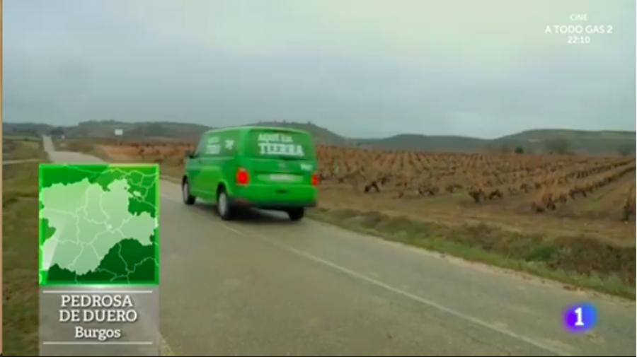 """Bodegas Viña Vilano, uno de los grandes protagonistas del programa """"Aquí La Tierra"""" de Televisión Española"""