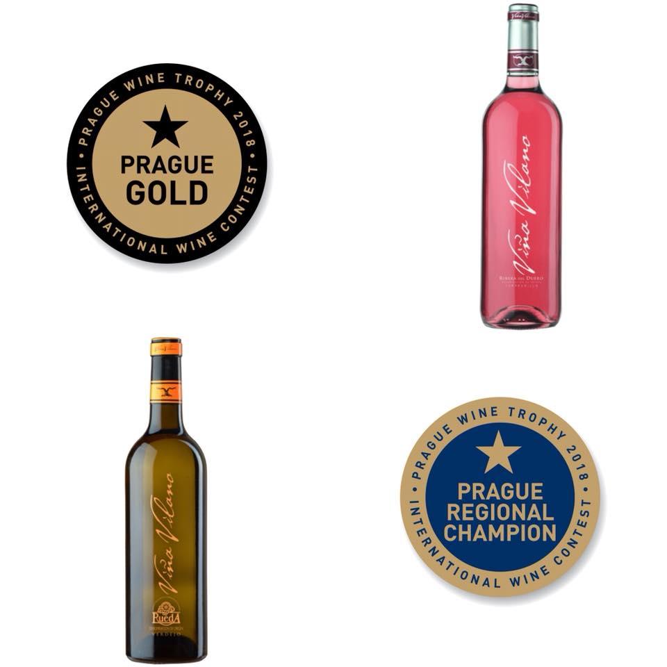 Viña Vilano, gran triunfador en los premios Prague Wine Tropy 2018