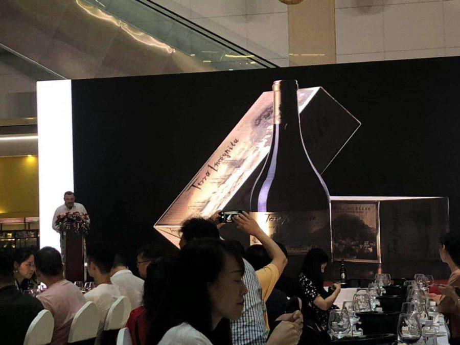 El vino de autor más emblemático de Vilano, Terra Incógnita, triunfa en el mercado chino