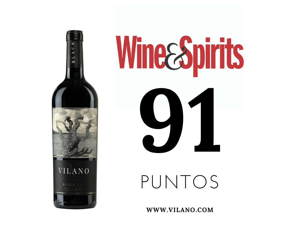 Wine and Spirits magazine otorga 91 puntos a Vilano Black