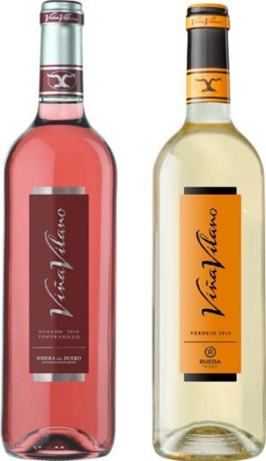 Bodegas Vilano presenta la nueva añada de sus vinos rosado y verdejo